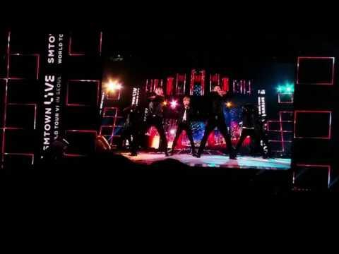 SMTown Live Concert Seoul 2017 Kangta Fancam