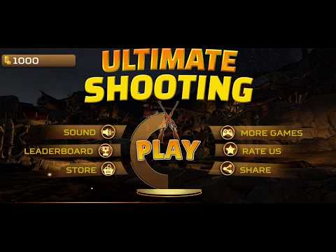 Ultimate Sniper: 3D Gun Shooter & Bullet Shooting