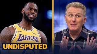 Michael Rapaport gives LeBron '100 percent of the blame' for the Lakers 0-3 start | NBA | UNDISPUTED