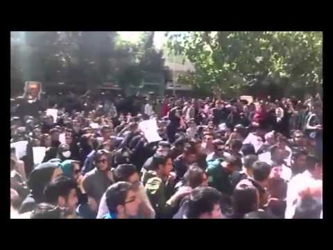 Iran: Isfahan residents protesting acid attacks - ENG sub