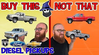 The CAR WIZARD shares which Diesel Trucks TO Buy & NOT to Buy