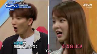 [Super Tv 2| Ep4|Eng Sub] Suju's High Pitch Battle With Oh My Girl