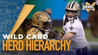 Herd Hierarchy:Colin Cowherd's Top 10 NFL teams heading into Wild Card Weekend | NFL | THE HERD
