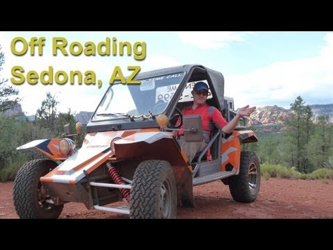 "3D Off Roading in Sedona, Arizona - ""Our Next Adventure"" by AdventureArt"