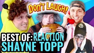 BEST OF SHAYNE TOPP (Try Not To Laugh) | Dan Ex Machina Reacts