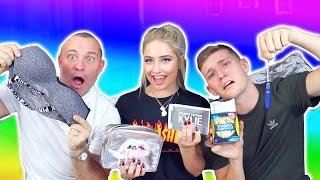 DAD VS BRO - GUESSING THE PRICE OF GIRLY THINGS! ( Bra's, Makeup, etc.. ) 😝