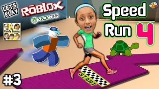 Let's Play ROBLOX #3:  SPEED RUN 4 REQUEST W/ Lexi! (FGTEEV Xbox One Gameplay / Slow Turtle Skit)