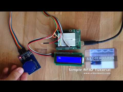 Arduino Tutorial - Simple RFID LCD alarm