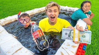 LAST TO LEAVE COCA COLA HOT TUB WINS $10,000