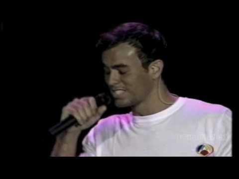 Enrique Iglesias/Enamorado por primera vez/Gira Vivir/1997 (6 de 11)