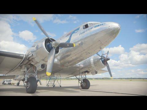 A historic flight - FULL STORY