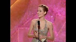Angelina Jolie Wins Best Actress In A Mini-Series - Golden Globes 1999