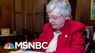 Alabama Governor Signs Bill Making Abortion Criminal | The Last Word | MSNBC