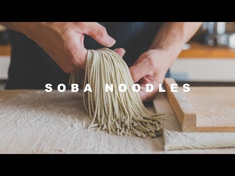 [what I eat] soba noodles ☆ 夏の新そばを打ったよ!