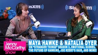 """Maya Hawke & Natalia Dyer from """"Stranger Things"""" on season 3, questionable parenting, and more"""