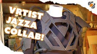Foam Armor - VRtist Jazza Collab - Part 1