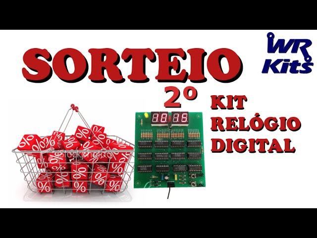 CONHEÇA O GANHADOR DO SEGUNDO KIT RELÓGIO DIGITAL!