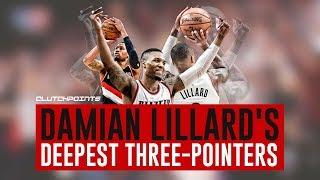 Damian Lillard's Deepest Three-Pointers