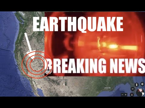 LARGE 6.4M Earthquake ROCKS SW Nevada - MULTIPLE Aftershocks!
