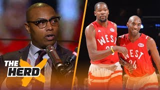 Caron Butler questions if Warriors are NBA's best, Kobe vs KD and LeBron's legacy | NBA | THE HERD