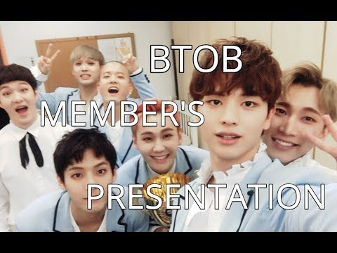 AN (UN)HELPFUL GUIDE TO BTOB'S MEMBER