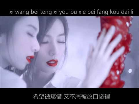 田馥甄 - 矛盾 Contradiction 歌詞版 LYRICS (PINYIN + CHINESE)