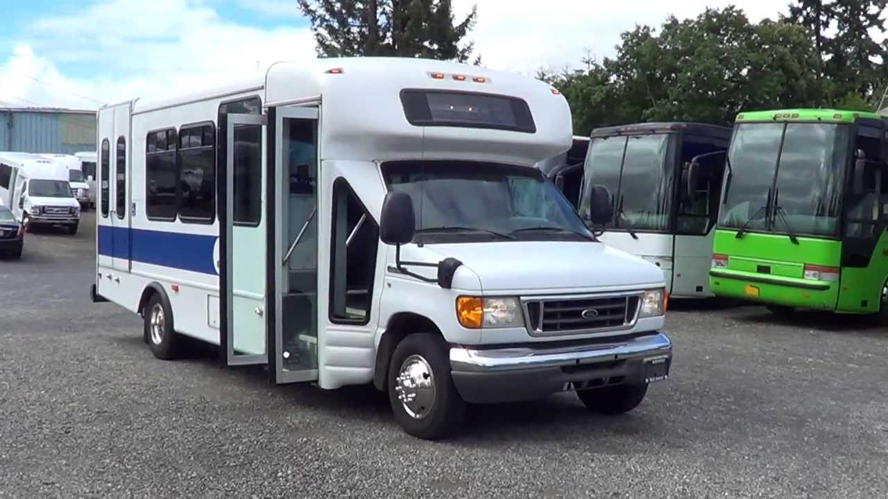 Northwest Bus Sales - 2007 Ford Starcraft 18 Passenger ...