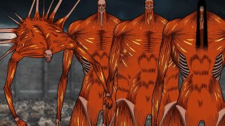 All Colossal Titans In Attack On Titan (2021 Updated)