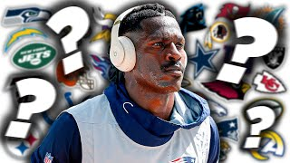 5 Dark Horse Teams that Should Risk it and Sign Antonio Brown after his Suspension