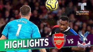 Arsenal vs. Crystal Palace : 2-2 Goals & Highlights | Premier League | Telemundo Deportes