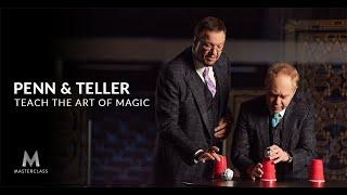 Penn & Teller Teach the Art of Magic   MasterClass Official Trailer