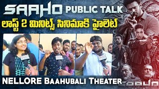 Public talk after watching Saaho on India's largest screen..