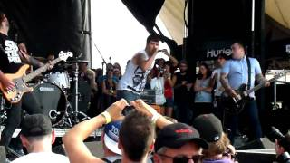 Alexisonfire - Young Cardinals @ The Warped Tour 2009 - Mississauga