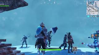 Ice Strom Event 1hour and Oh wow what Giant Ice King magic happpen snow map back here!