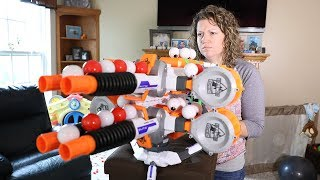 Nerf War : Smashers 2 (Look What Mom Found)