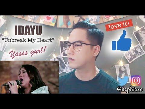 Idayu - Unbreak My Heart | REACTION