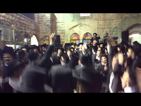 ריקודים במירון עם אסיר גזירת הגיוס ז` אדר הילולת משה רבנו
