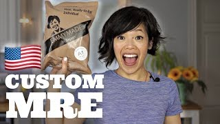 CUSTOM Meal Ready-to-Eat with my face on it   PEPPERONI PIZZA! Emmymade Exclusive U.S. MRE Ration