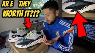 WORTH IT?? AFTER WEARING ADIDAS YEEZY 700 BOOST WAVE RUNNER FOR 4 MONTHS