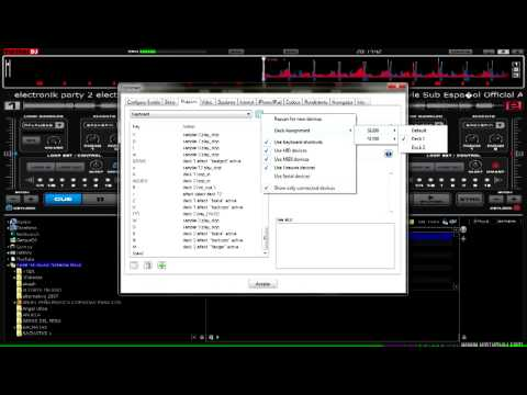 ELECTRIC DJ TUTORIAL  COMO CONTROLAR VIRTUAL DJ 7 CON DENON 1200