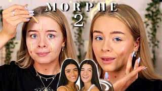 TESTING MORPHE 2... CHARLI AND DIXIE MORPHE COLLECTION