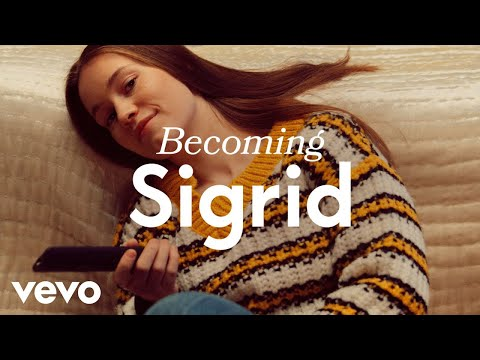 Sigrid - Songwriting in bed and the importance of best friends | Vevo LIFT