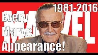 Every Stan Lee Marvel Appearance (1981-2016)
