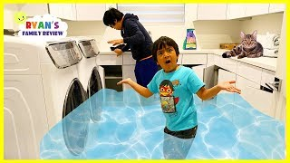 Our Cats Flooded our House with Water Everywhere!!!
