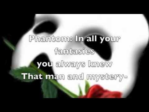 Phantom of the Opera (piano version with LYRICS)