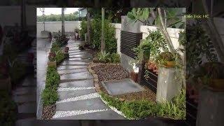 Mẫu Sân Vườn Nhà Nhỏ Hẹp Nhưng Đẹp Vô Cùng - 50 Mẫu (SV)
