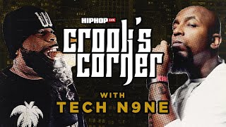 Crooked I & Tech N9ne Talk Strange Music & TDE, Logic & Joyner Lucas, & More   Crook's Corner
