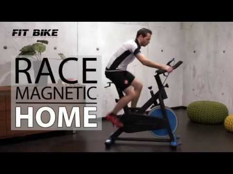 Spinningfiets Race Magnetic Home - BeterSport.nl