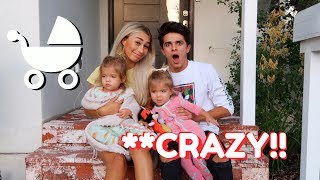 BECOMING PARENTS FOR 24 HOURS!! (W/ MyLifeAsEva) | Brent Rivera