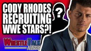 Cody Rhodes RECRUITING WWE Star?! Charlotte Flair Being SUED For $5M! | WrestleTalk News Oct. 2018